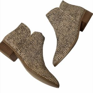 ALDO Kaicien Dotty Cheetah Ankle Boot 8.5 NIB
